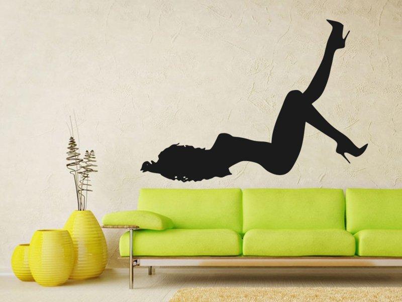 Samolepky na zeď Sexy tanečnice 001 - Samolepící dekorace a nálepka na stěnu
