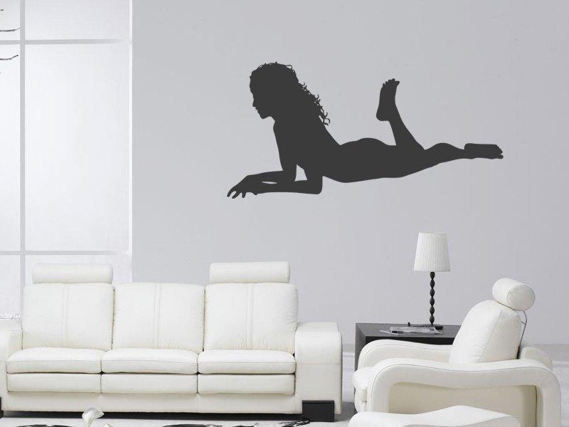 Samolepky na zeď Sexy žena 003 - Samolepící dekorace a nálepka na stěnu