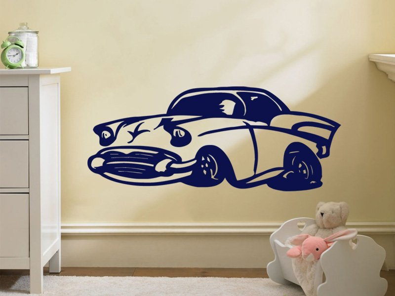 Samolepky na zeď Auto 014 - Samolepící dekorace a nálepka na stěnu