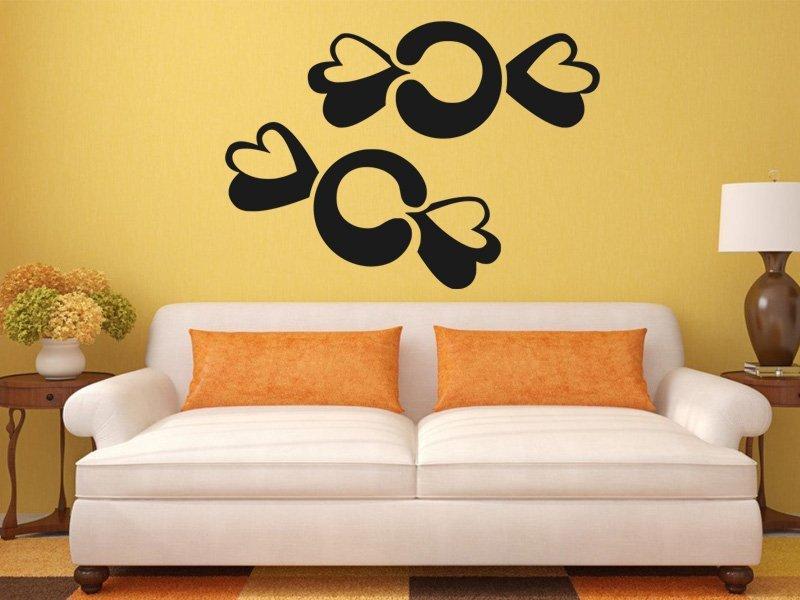 Samolepky na zeď Bonbony 0173 - Samolepící dekorace a nálepka na stěnu
