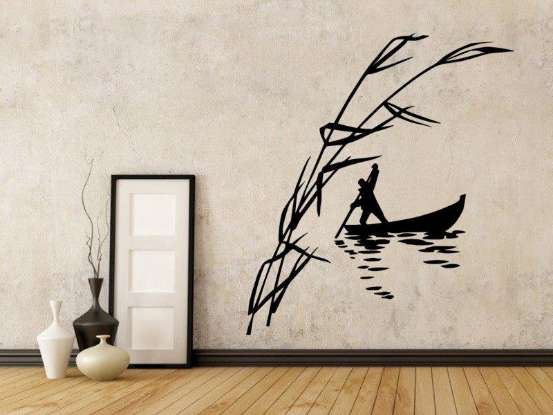 Samolepky na zeď Převozník 001 - Samolepící dekorace a nálepka na stěnu