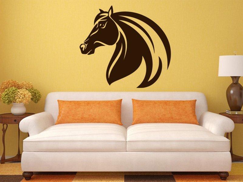 Samolepky na zeď Kůň 0365 - Samolepící dekorace a nálepka na stěnu