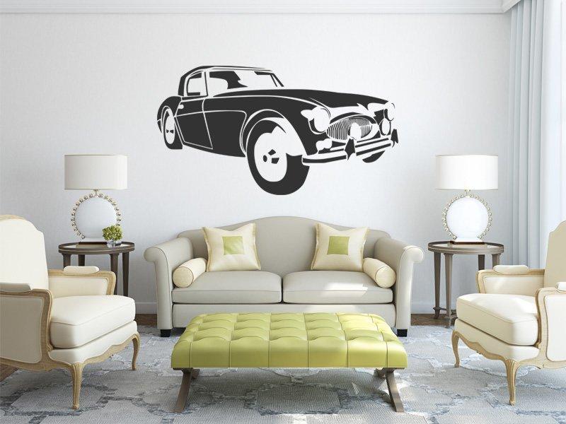 Samolepky na zeď Auto 029 - Samolepící dekorace a nálepka na stěnu