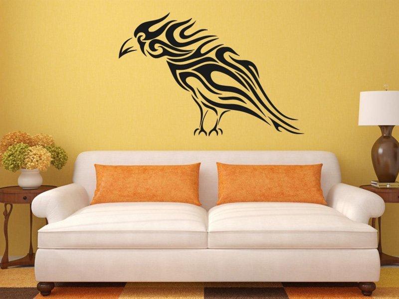 Samolepky na zeď Havran 001 - Samolepící dekorace a nálepka na stěnu