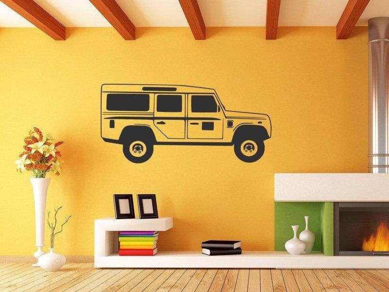 Samolepky na zeď Auto 054 - Samolepící dekorace a nálepka na stěnu