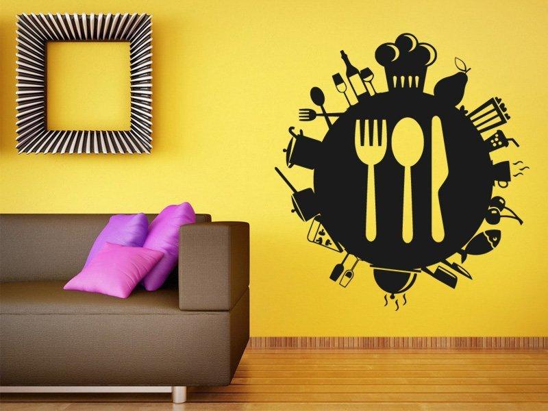 Samolepky na zeď Příbory 0086 - Samolepící dekorace a nálepka na stěnu