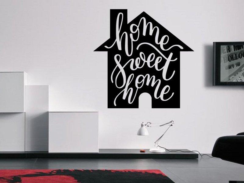 Samolepky na zeď Nápis Home Sweet Home 0635 - Samolepící dekorace a nálepka na stěnu