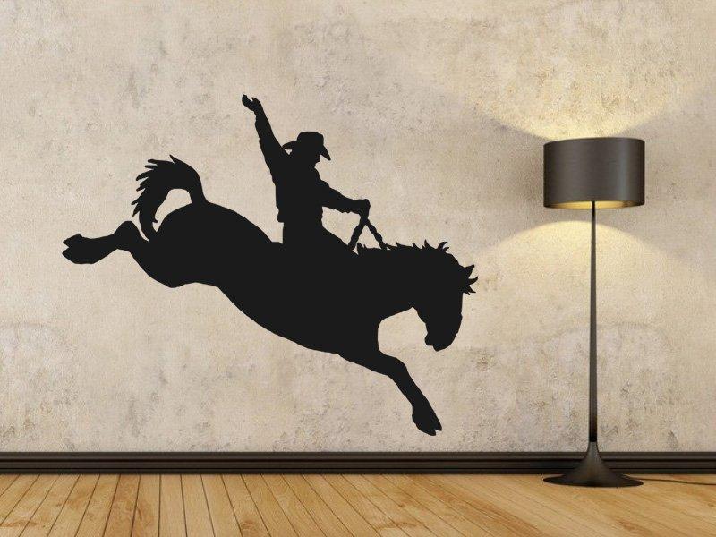 Samolepky na zeď Kovboj 001 - Samolepící dekorace a nálepka na stěnu