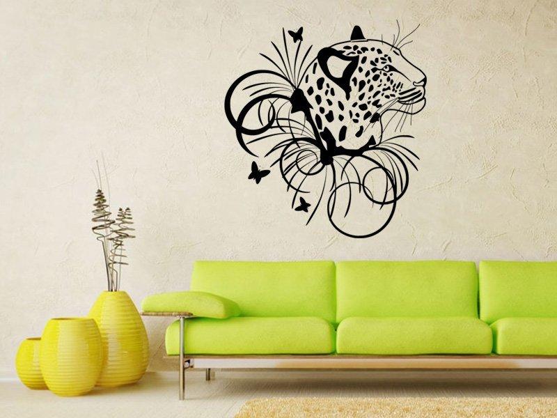Samolepky na zeď Leopard 003 - Samolepící dekorace a nálepka na stěnu