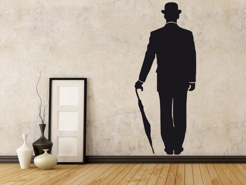 Samolepky na zeď Silueta 007