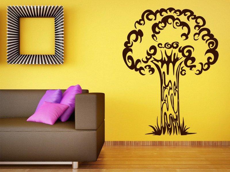 Samolepky na zeď Strom 011 - Samolepící dekorace a nálepka na stěnu