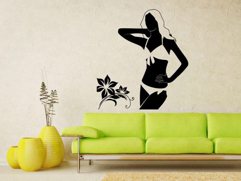 Samolepky na zeď Žena 025 - Samolepící dekorace a nálepka na stěnu