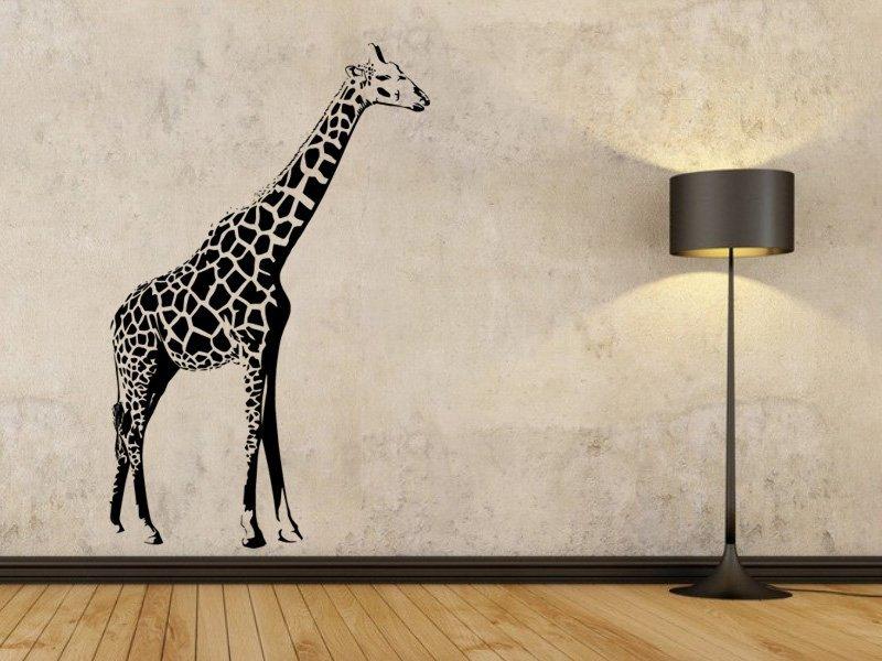 Samolepky na zeď Žirafa 007 - Samolepící dekorace a nálepka na stěnu