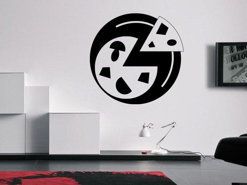 Samolepky na zeď Pizza 0150 - Samolepící dekorace a nálepka na stěnu