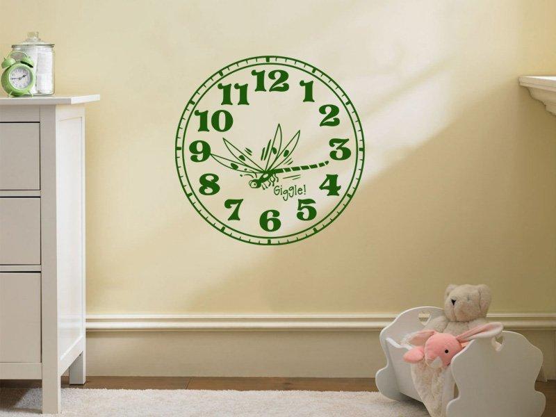 Samolepky na zeď Hodiny 001 - Samolepící dekorace a nálepka na stěnu