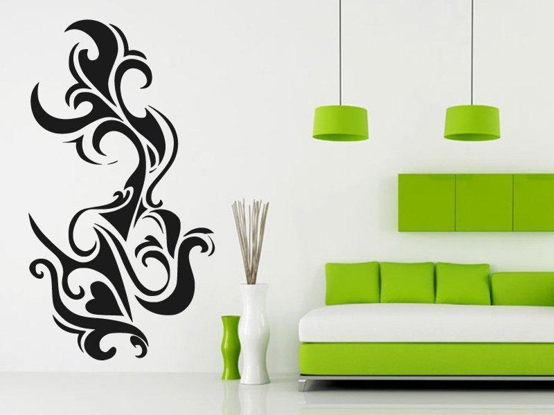 Samolepky na zeď Ornament 003 - Samolepící dekorace a nálepka na stěnu