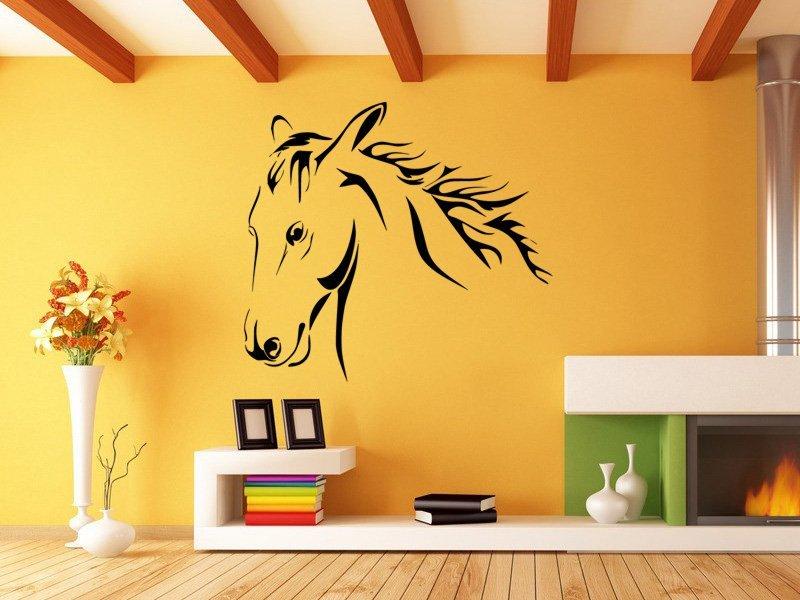 Samolepky na zeď Kůň 0385 - Samolepící dekorace a nálepka na stěnu