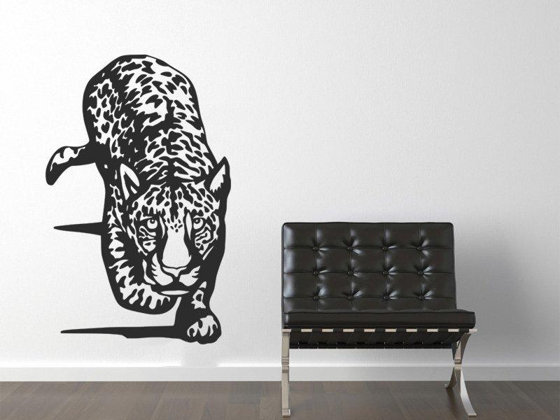 Samolepky na zeď Jaguár 002 - Samolepící dekorace a nálepka na stěnu