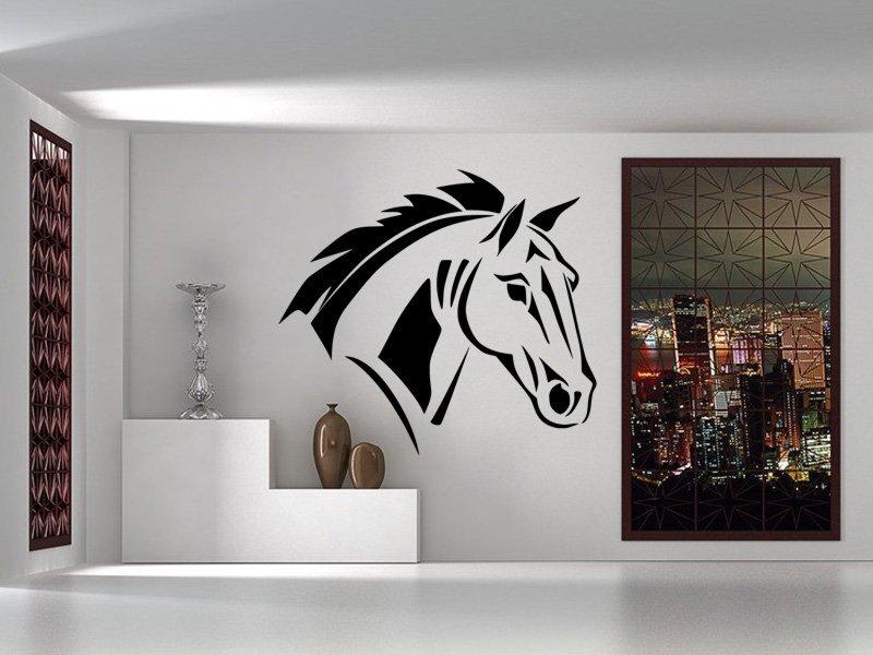 Samolepky na zeď Kůň 0398 - Samolepící dekorace a nálepka na stěnu