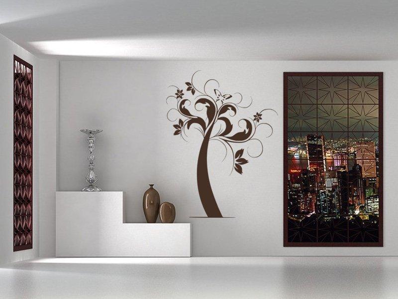 Samolepky na zeď Strom 071 - Samolepící dekorace a nálepka na stěnu