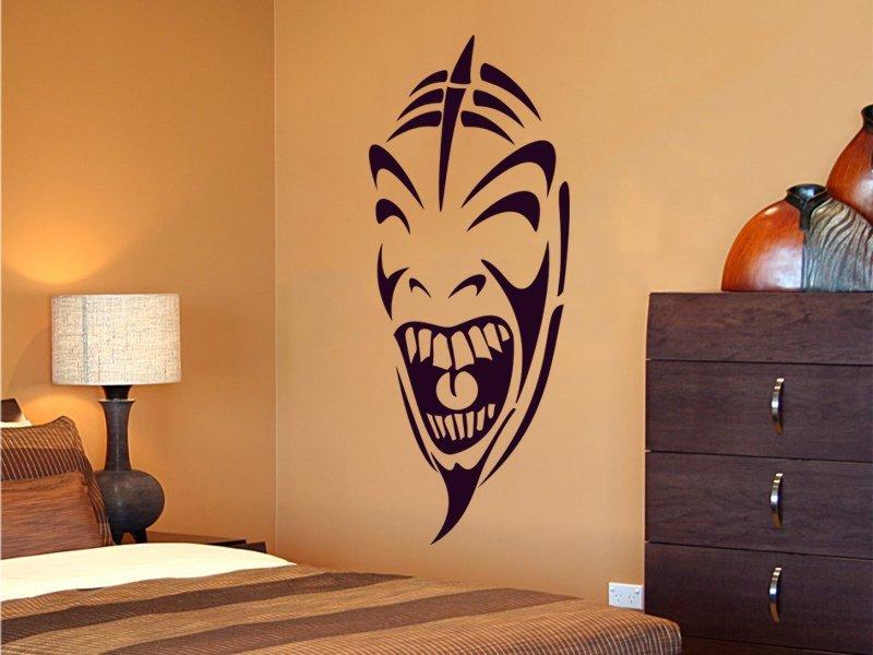Samolepky na zeď Maska 002 - Samolepící dekorace a nálepka na stěnu