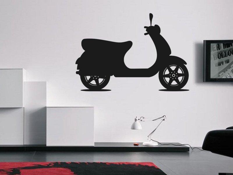 Samolepky na zeď Motorka 023 - Samolepící dekorace a nálepka na stěnu