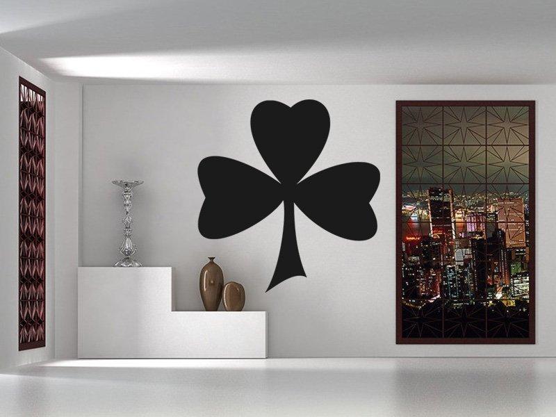 Samolepky na zeď Trojlístek 0036 - Samolepící dekorace a nálepka na stěnu
