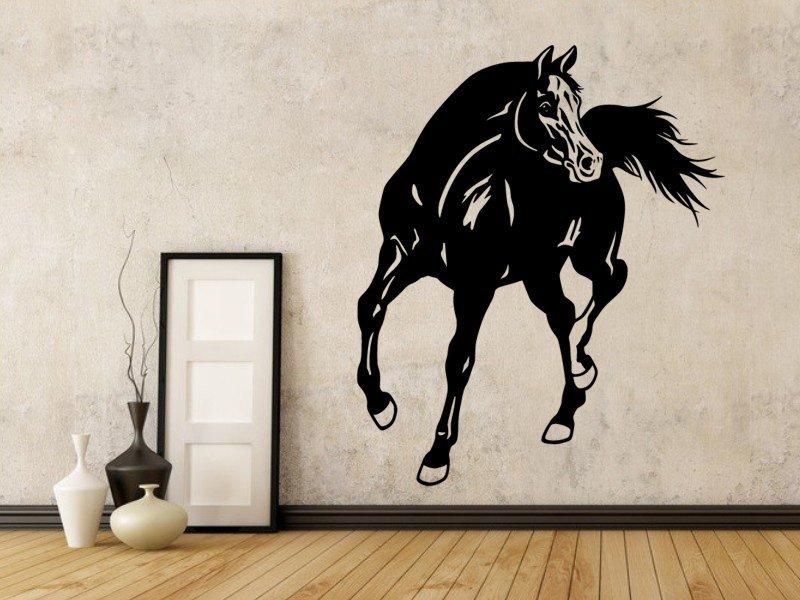 Samolepky na zeď Kůň 0348 - Samolepící dekorace a nálepka na stěnu