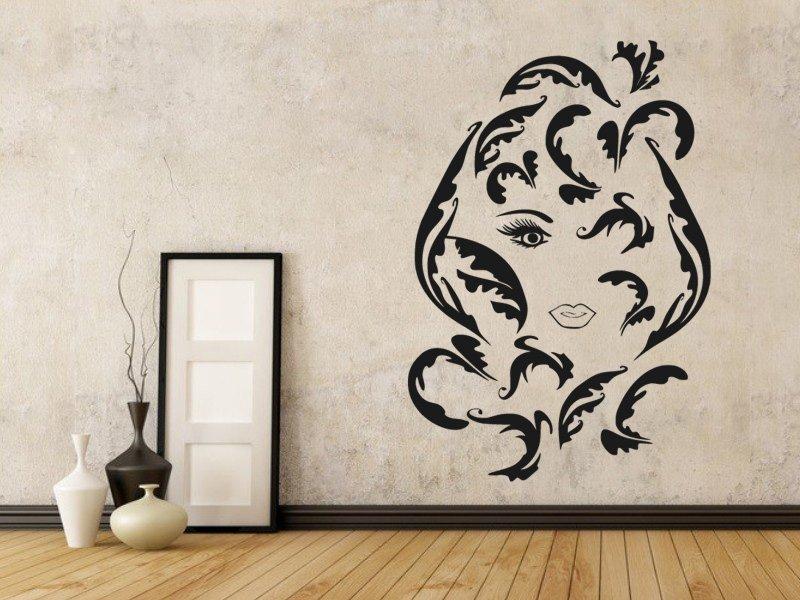 Samolepky na zeď Žena 020 - Samolepící dekorace a nálepka na stěnu
