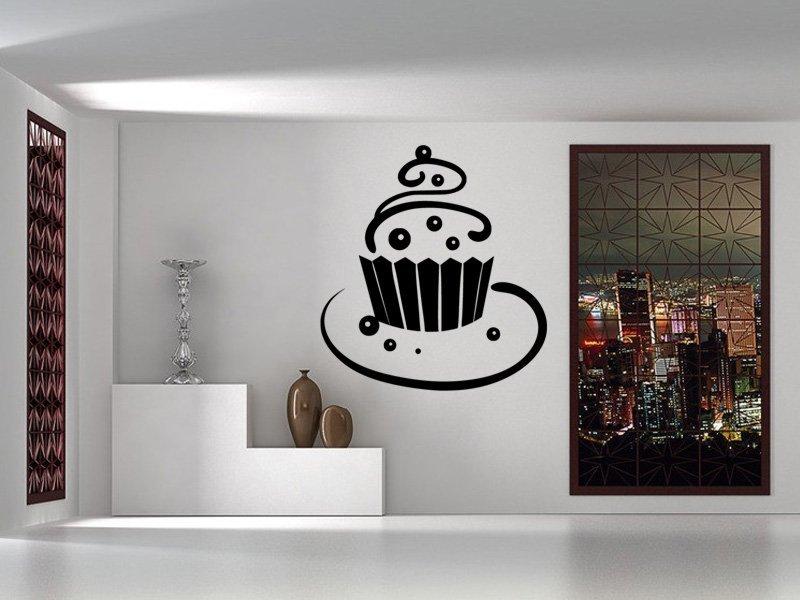 Samolepky na zeď Dort 0014 - Samolepící dekorace a nálepka na stěnu