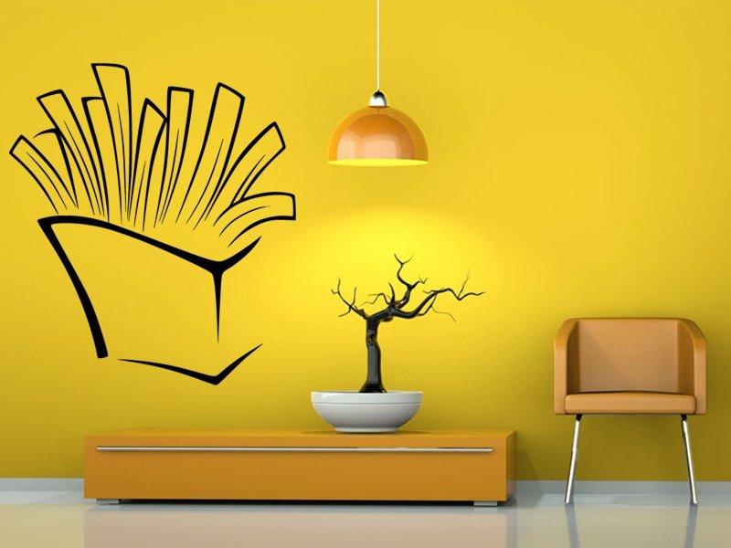 Samolepky na zeď Hranolky 0120 - Samolepící dekorace a nálepka na stěnu