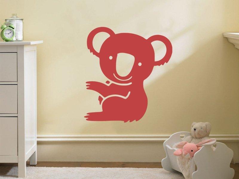 Samolepky na zeď Koala 001 - Samolepící dekorace a nálepka na stěnu