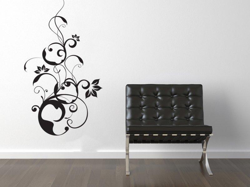 Samolepky na zeď Rostlina 003 - Samolepící dekorace a nálepka na stěnu