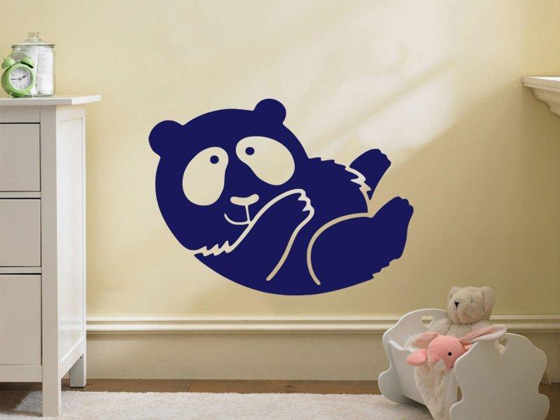 Samolepky na zeď Méďa 005 - Samolepící dekorace a nálepka na stěnu