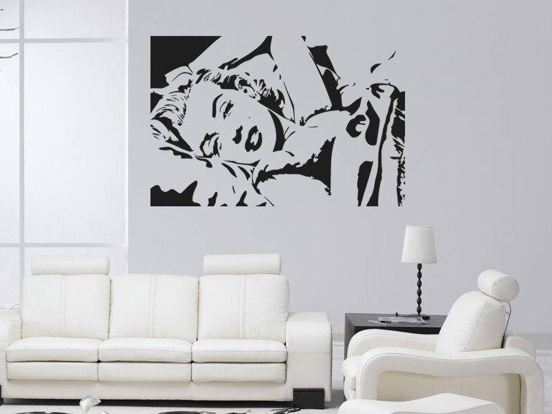 Samolepky na zeď Marylin Monroe 003 - Samolepící dekorace a nálepka na stěnu