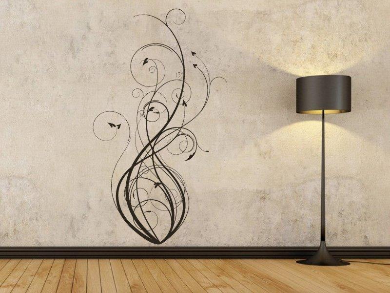 Samolepky na zeď Výhonky 003 - Samolepící dekorace a nálepka na stěnu