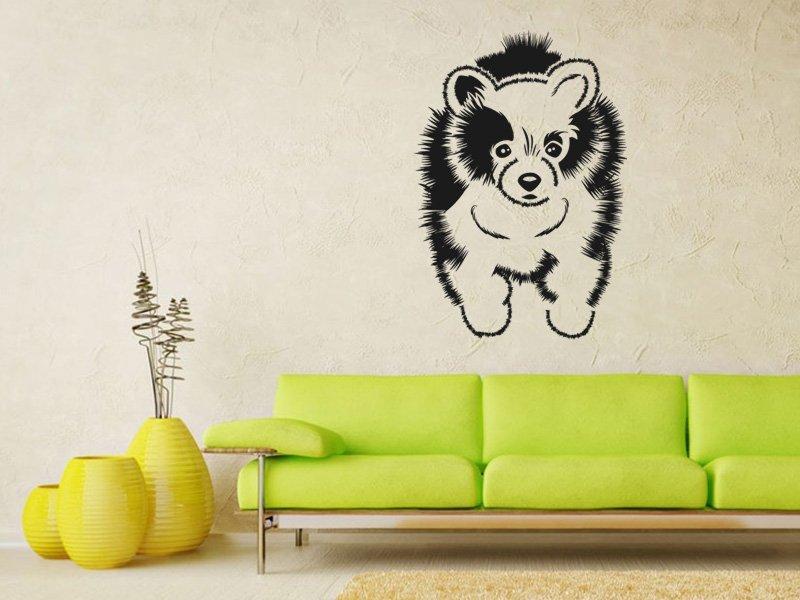 Samolepky na zeď Pes 009 - Samolepící dekorace a nálepka na stěnu