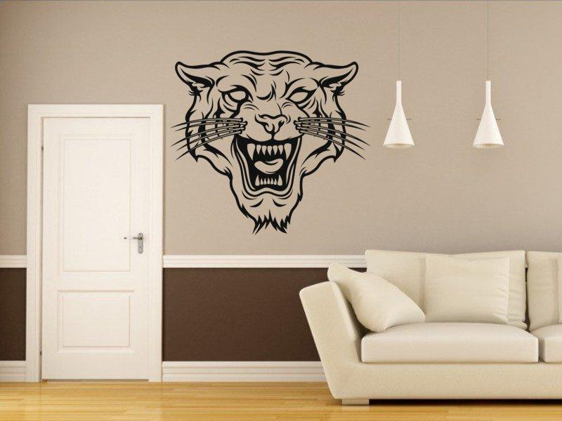 Samolepky na zeď Tygr 006 - Samolepící dekorace a nálepka na stěnu