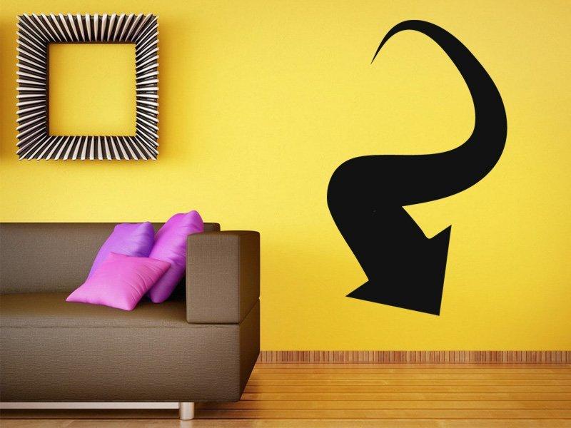 Samolepky na zeď Šipka 036 - Samolepící dekorace a nálepka na stěnu