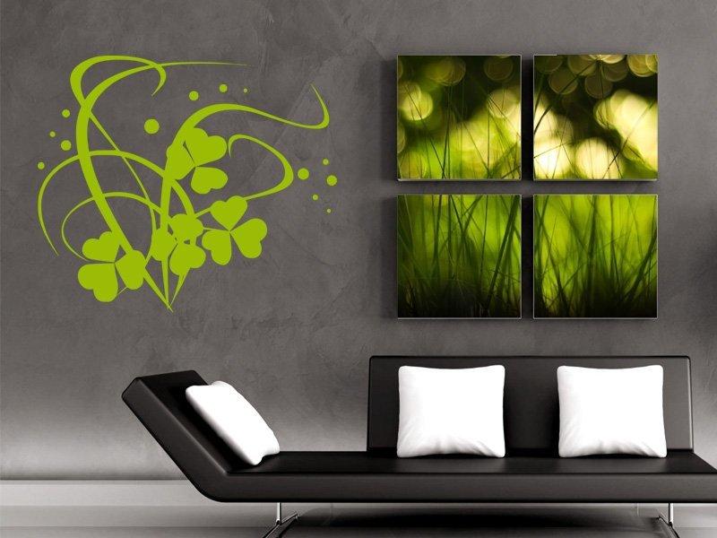 Samolepky na zeď Ornamenty z rostlin 034