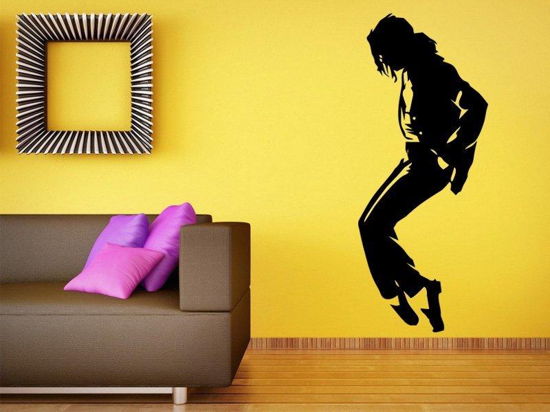 Samolepky na zeď Michael Jackson 002 - Samolepící dekorace a nálepka na stěnu