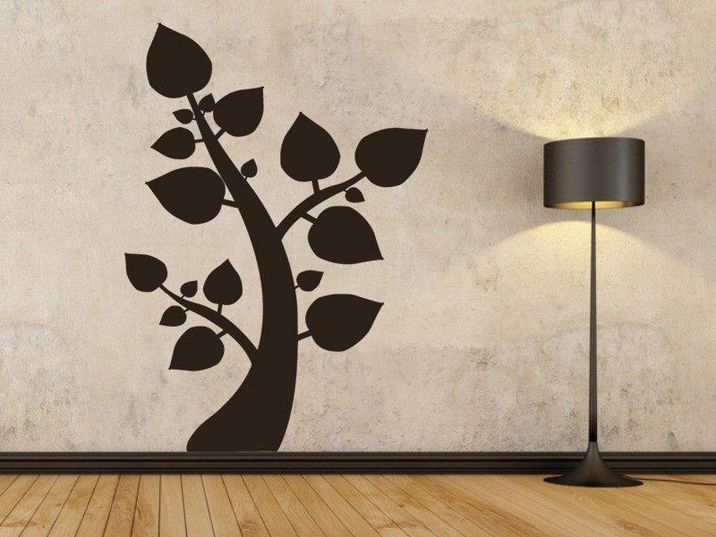 Samolepky na zeď Strom 066 - Samolepící dekorace a nálepka na stěnu