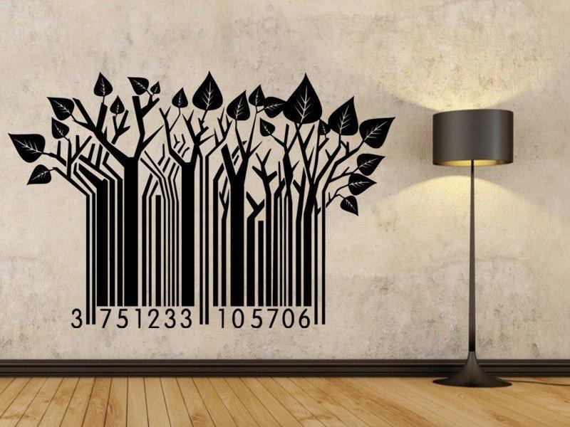 Samolepky na zeď Strom 0276 - Samolepící dekorace a nálepka na stěnu