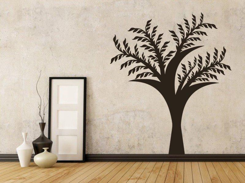 Samolepky na zeď Strom 045 - Samolepící dekorace a nálepka na stěnu
