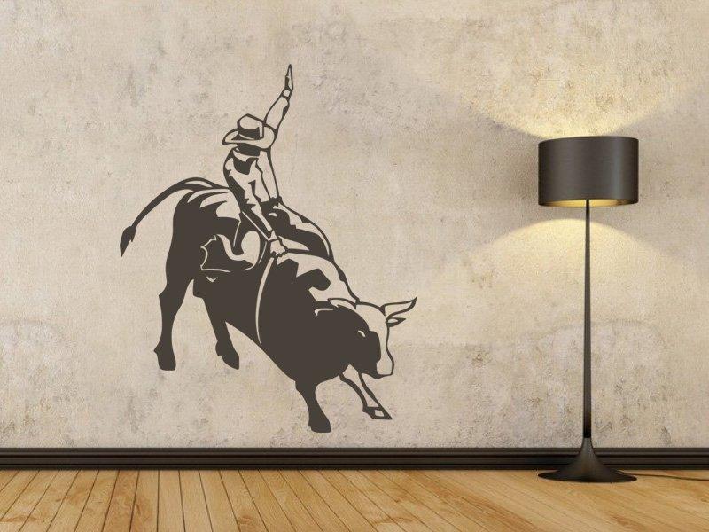 Samolepky na zeď Kovboj 003 - Samolepící dekorace a nálepka na stěnu