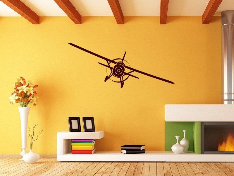 Samolepky na zeď Letadlo 003 - Samolepící dekorace a nálepka na stěnu
