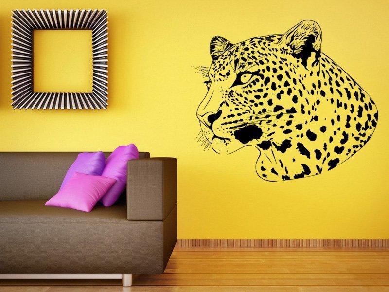 Samolepky na zeď Leopard 002