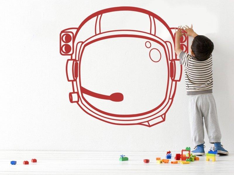 Samolepky na zeď Astronaut 001 - Samolepící dekorace a nálepka na stěnu