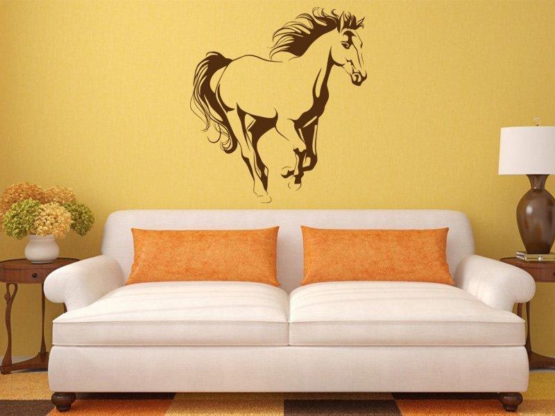Samolepky na zeď Kůň 031 - Samolepící dekorace a nálepka na stěnu