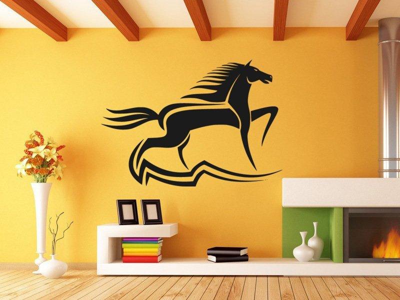 Samolepky na zeď Kůň 030 - Samolepící dekorace a nálepka na stěnu
